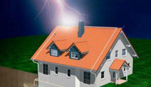 Заземление дома и защита от молний