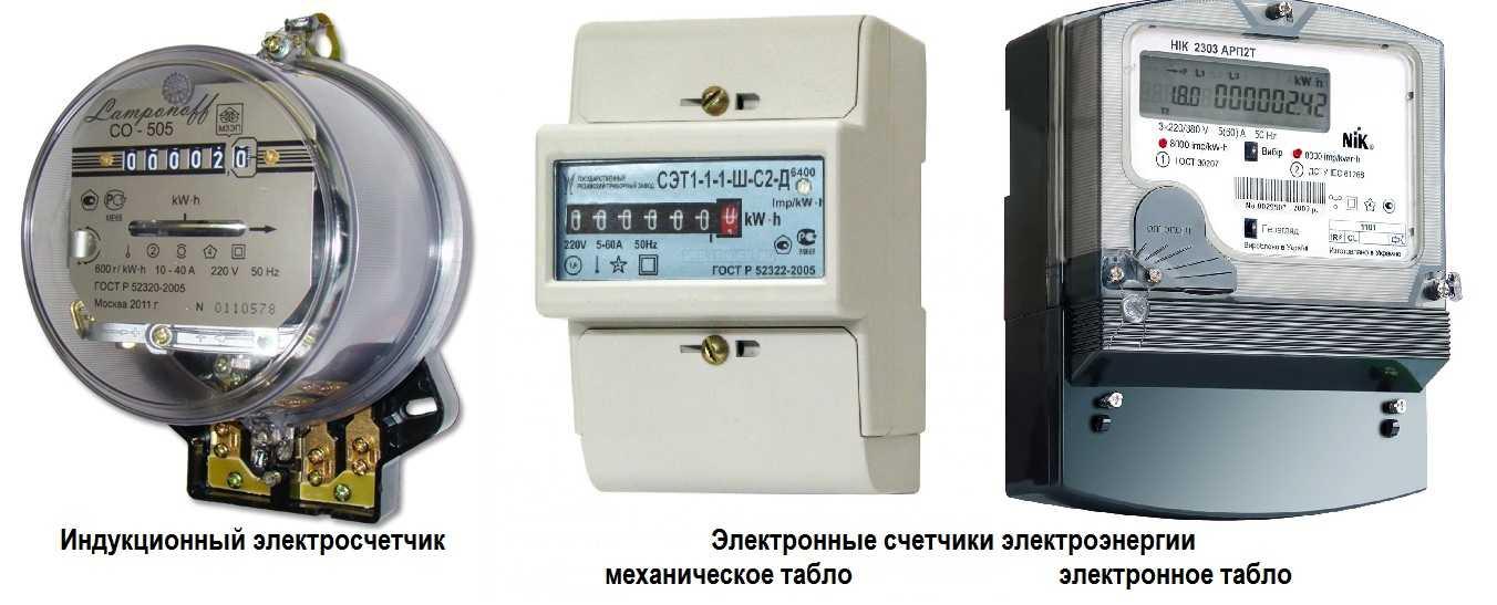 Определение электросчетчика