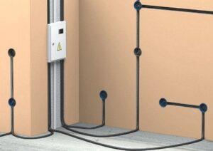 Прокладка электрических проводов