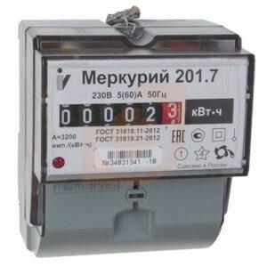Критерии выбора электрического счетчика